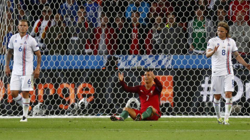 a15849bfe Euro 2016  Portugal v Iceland - Portugal s Cristiano Ronaldo reacts during  the match against Iceland