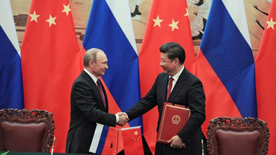 China Russia Strengthen Ties Amid Tensions With West