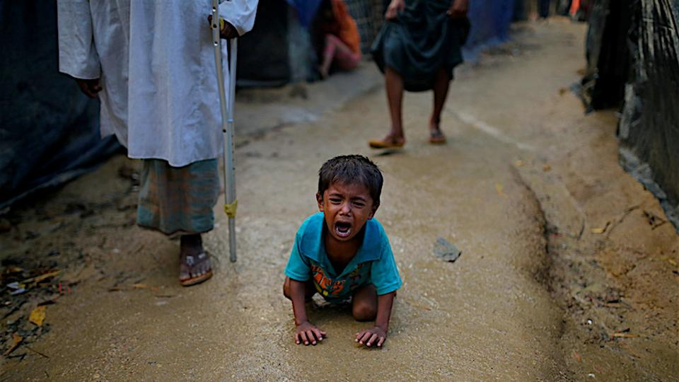 More than 400,000 Rohingya Muslims have fled Myanmar ever since Burmese army carried out ethnic cleansing of the minority community in Rakhine state.