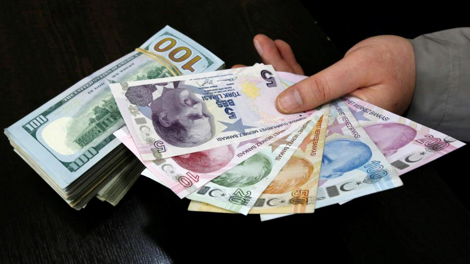 According To Turkey S Central Bank The 10 Month Average Exchange Rate Was 3 61