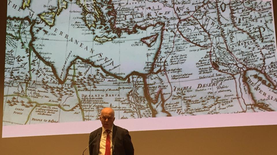 Philip Mansel was in Istanbul for the Second Levantine Conference in November.