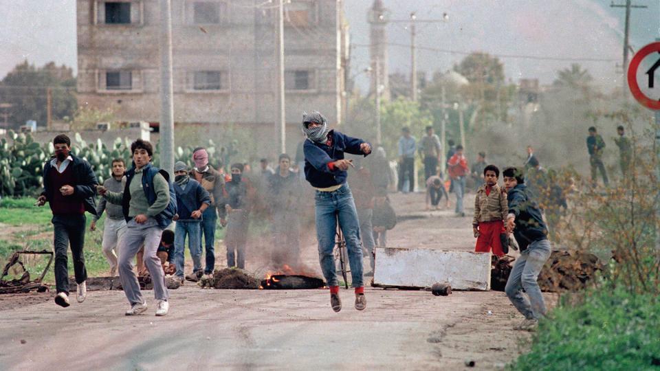 Hasil gambar untuk intifada 1987