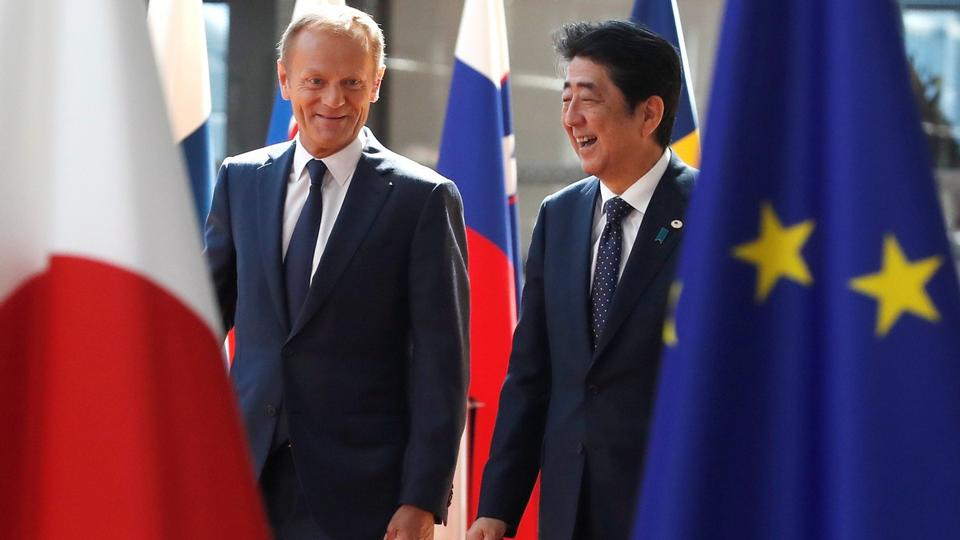 Eu And Japan Conclude Gigantic Free Trade Agreement