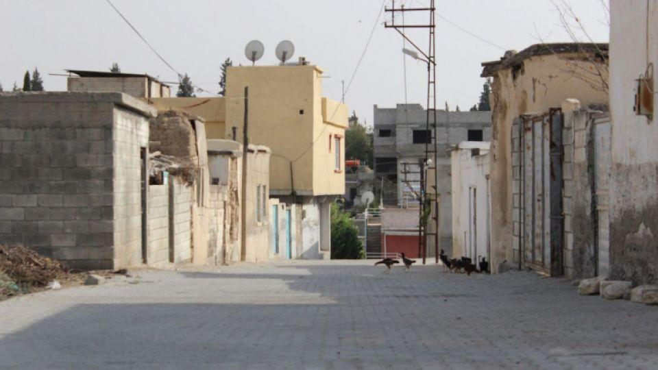 View of a street in Karkamis, a town in Turkey bordering Jarabulus, Syria, where a military operation continues against DAESH and the YPG. August 25, 2016.