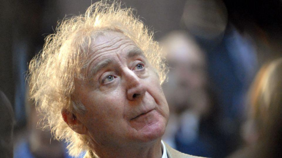 Willy Wonka star Gene Wilder who died on Monday at the age of 83 can be seen listening to his introduction at the Governor's Awards for Excellence in Culture and Tourism in Hartford, Connecticut on April 9, 2008.