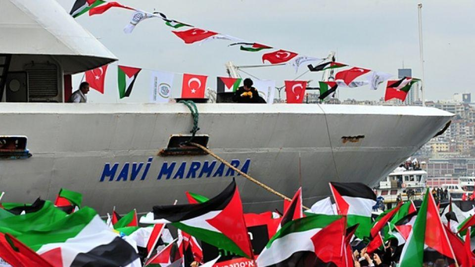 The Mavi Marmara (pictured above) was part of a humanitarian aid flotilla destined for Gaza. The vessel was raided by Israeli commandos in 2010, resulting in the death of 10 Turkish activists.