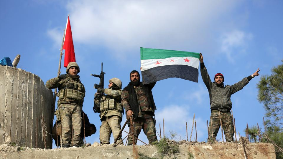 Free Syrian Army liberates villages in northern Syria