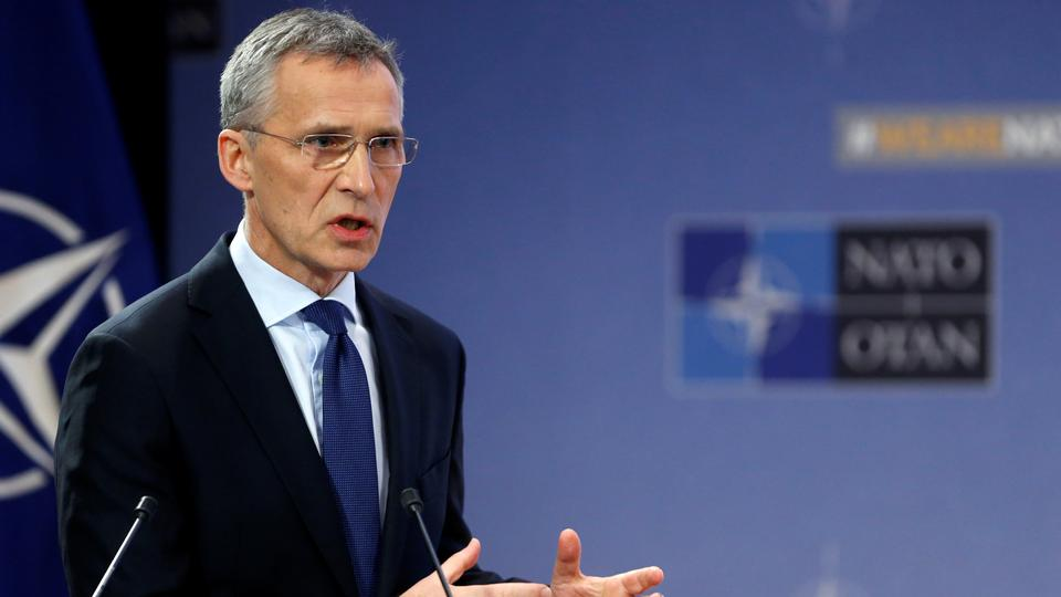 Jens Stoltenberg, speaking on the eve of a meeting of NATO defence ministers in Brussels, said there was