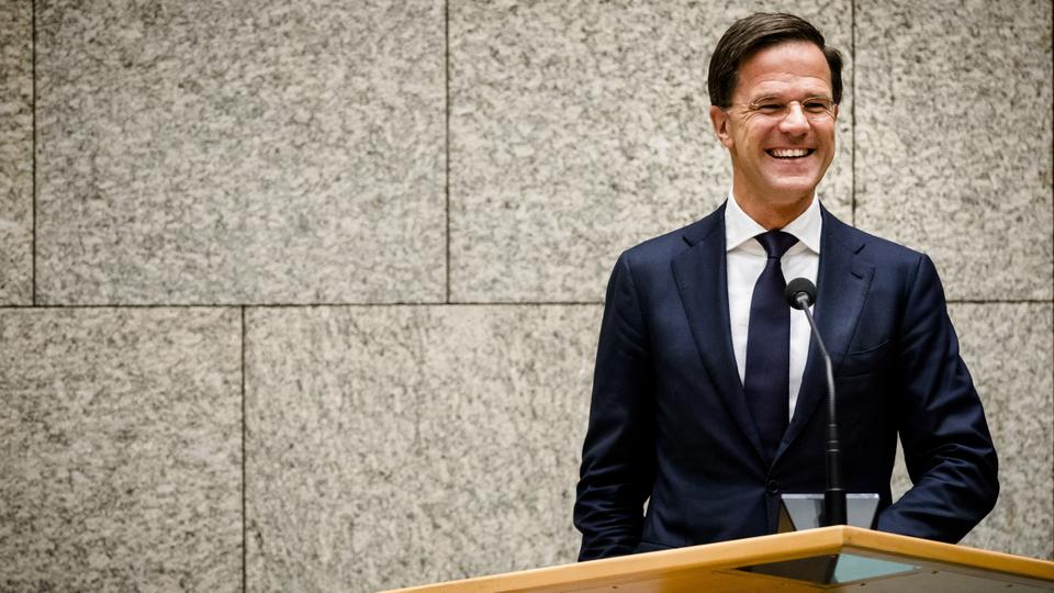 Dutch Prime Minister Mark Rutte leads a four-party coalition government, which has a precarious parliamentary majority of just one seat.