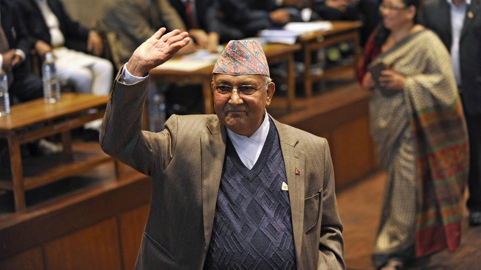KP Sharma Oli is expected to take the oath of office later Thursday.
