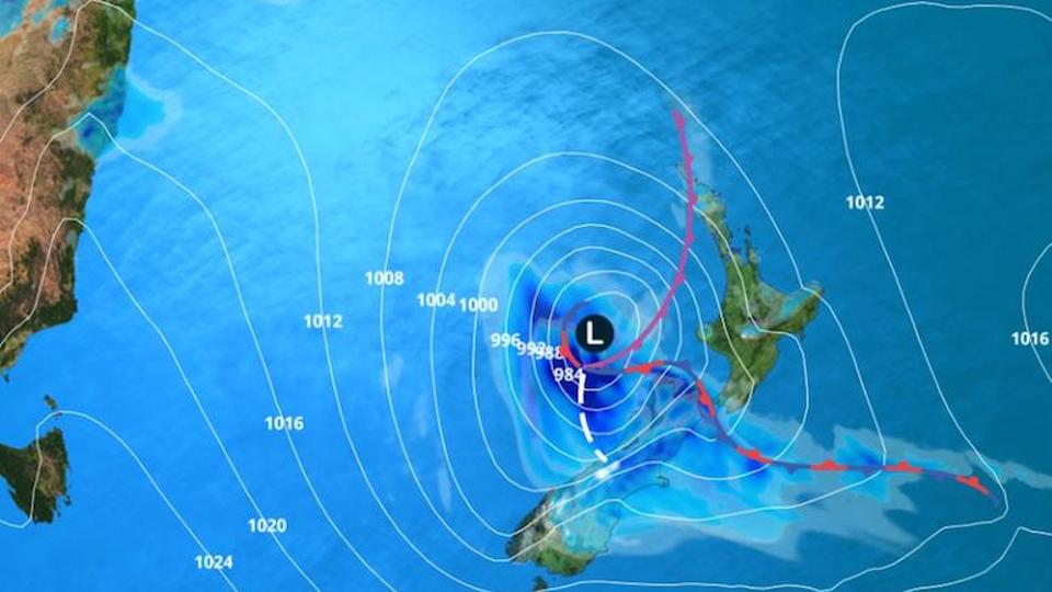 Cyclone Gita, now downgraded to a storm, has not yet hit the capital Wellington.