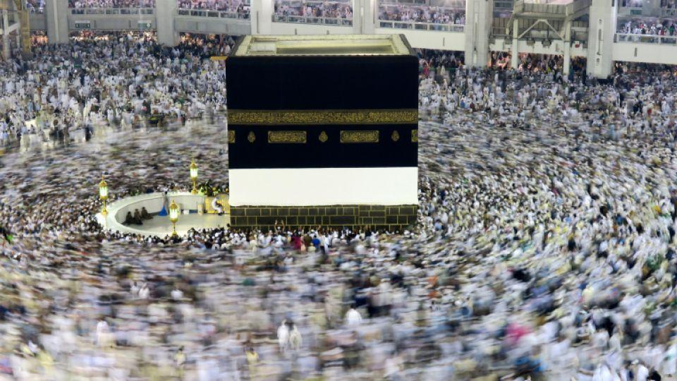 Muslim pilgrims circle the Kaaba at the Grand mosque in Mecca, Saudi Arabia, September 6, 2016.