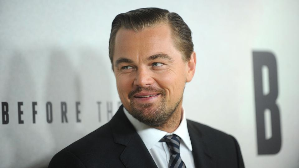 """Leonardo Dicaprio attends the premiere of National Geographic Channel's """"Before The Flood"""" at the United Nations on Thursday, October 20, 2016"""