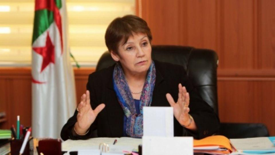 Algerian Education Minister Nouria Benghebrit.