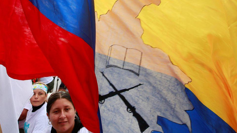 The government expects close to 17,500 FARC members to disarm as part of the peace deal. The FARC held a rebel congress in Yari Plains, Colombia to prepare for the terms of the truce.