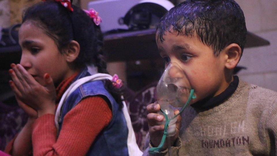 Image result for The US will respond to the Assad regime's alleged chemical attack against Syrian civilians,