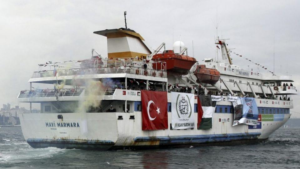 The Mavi Marmara vessel was attacked in May 2010 by Israeli commandos. 10 Turkish activists were killed.