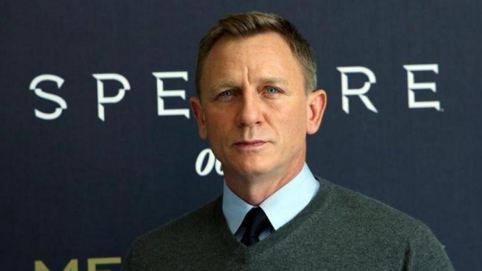 Actor Daniel Craig poses during a photocall for the new James Bond 007 film, Spectre.