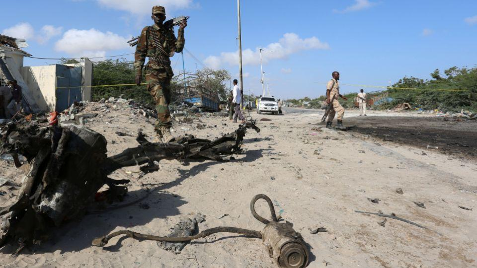 Al Shabaab has launched many similar attacks in Mogadishu in the past in its bid to topple the Western-backed government.