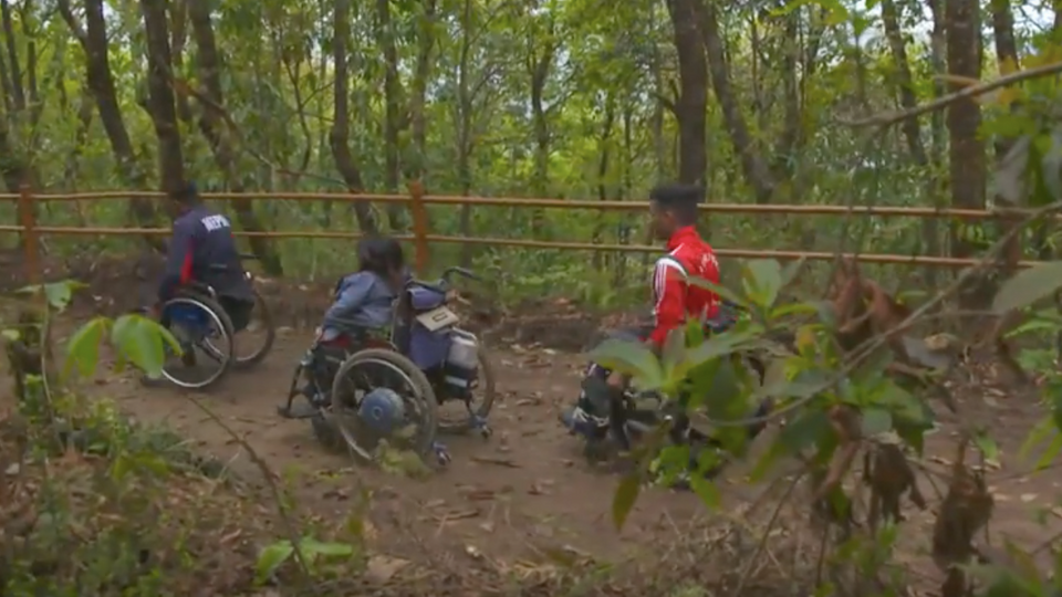 Nepal opens first trekking trail for the disabled