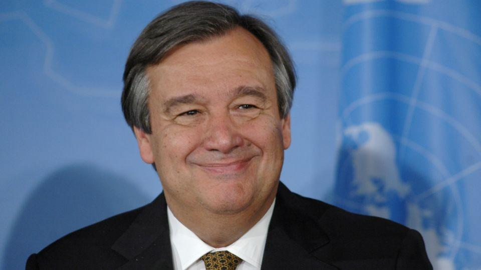 Portugal's Antonio Guterres Named as Next United Nations head