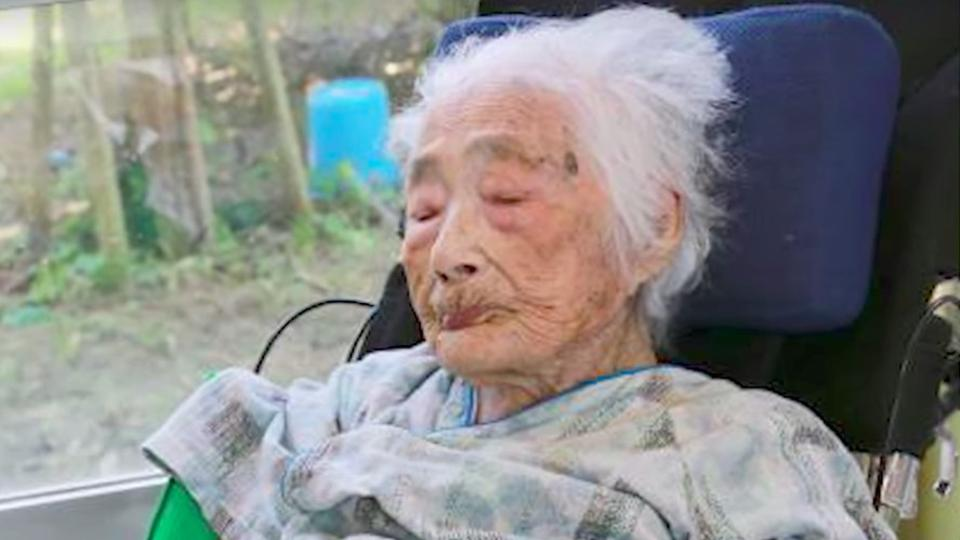 Nabi Tajima became the oldest woman in Japan in September 2015.