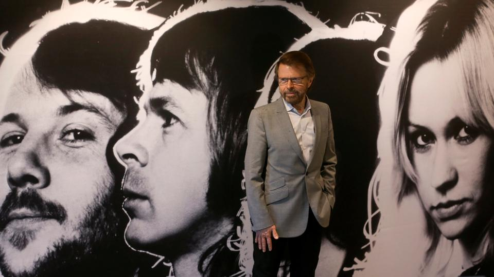Bjoern Ulvaeus, member of the legendary Swedish pop group ABBA poses at the new