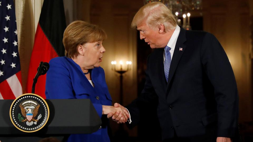 Trump rips Germany's immigration policies