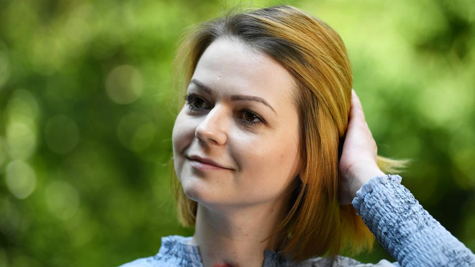 Yulia Skripal, who was poisoned in Salisbury along with her father, Russian spy Sergei Skripal, speaks to Reuters in London, Britain, on May 23, 2018.