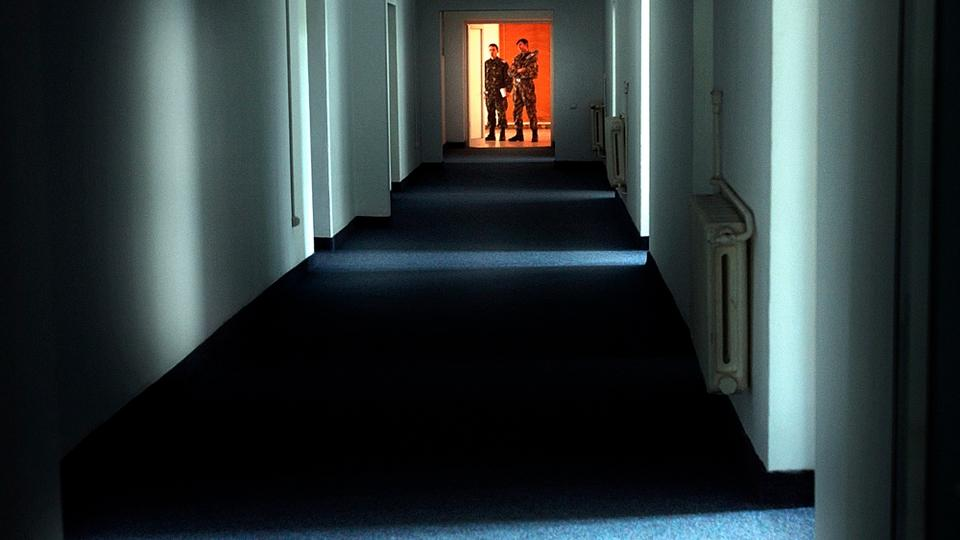 The file picture Romanian military staff stand at the end of a corridor on the Mihail Kogalniceanu airbase, near the Black Sea port of Constanta, Romania, a Soviet-era facility which became a key focus of a European investigation into allegations that the CIA operated secret prisons, on November 9,2005. The European Court of Human Rights has ruled, Thursday, May 31, 2018, that Romania and Lithuania allowed the detention and abuse of a Saudi national and a Palestinian national, saying that Abd al-Rahim Al Nashiri was detained and abused in Romania between Sept. 2003 and Oct. 2005 and urging Romania to investigate and punish perpetrators.
