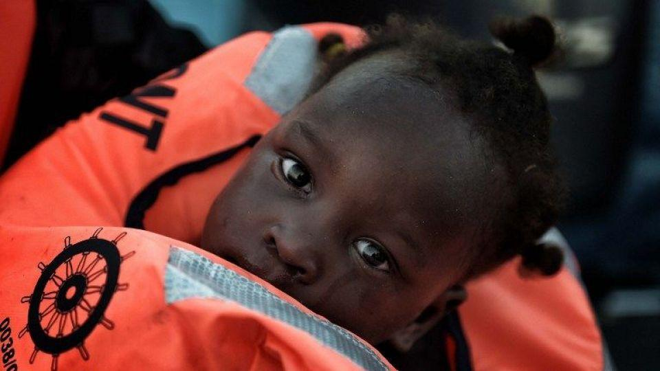 At least 600 children have reportedly died crossing the Mediterranean Sea this year.