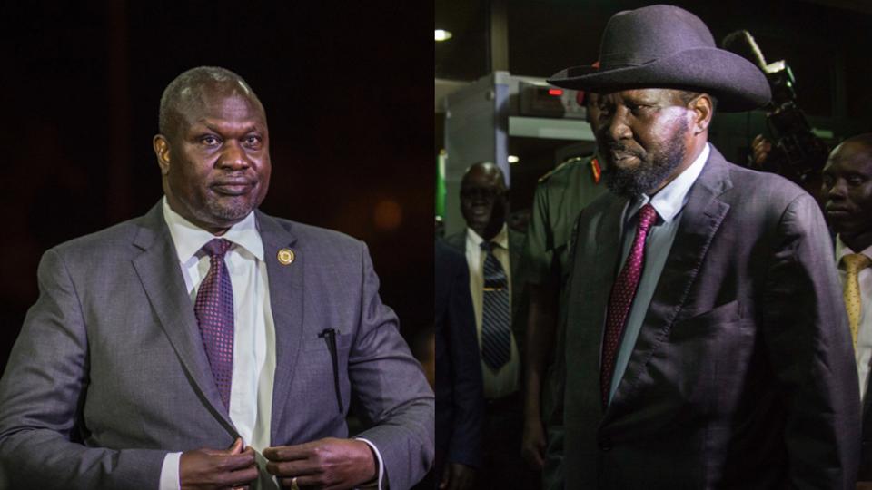 South Sudan's president and rebel leader meet in Ethiopia