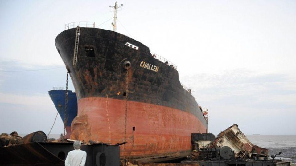 Gaddani is the third largest ship-breaking yard in the world. Metal from the yard is sold to mills across Pakistan. Labourers often work in poor conditions without basic protective gear.