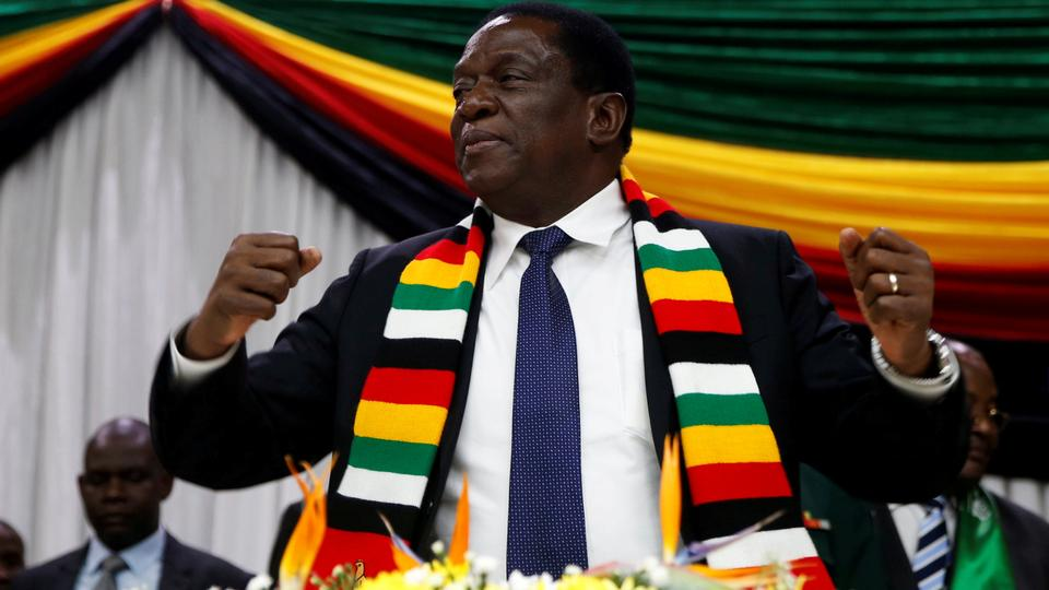 The 75 Year Old Emmerson Mnangagwa Was Propelled Into Office In November After A