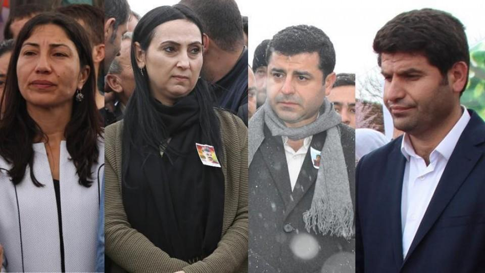 At least nine other parliamentarians from the HDP were also detained.