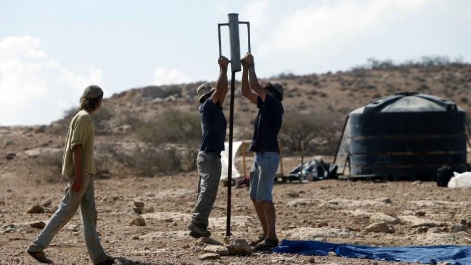 Israeli settlers have built hundreds of illegal settlements on Palestinian soil.