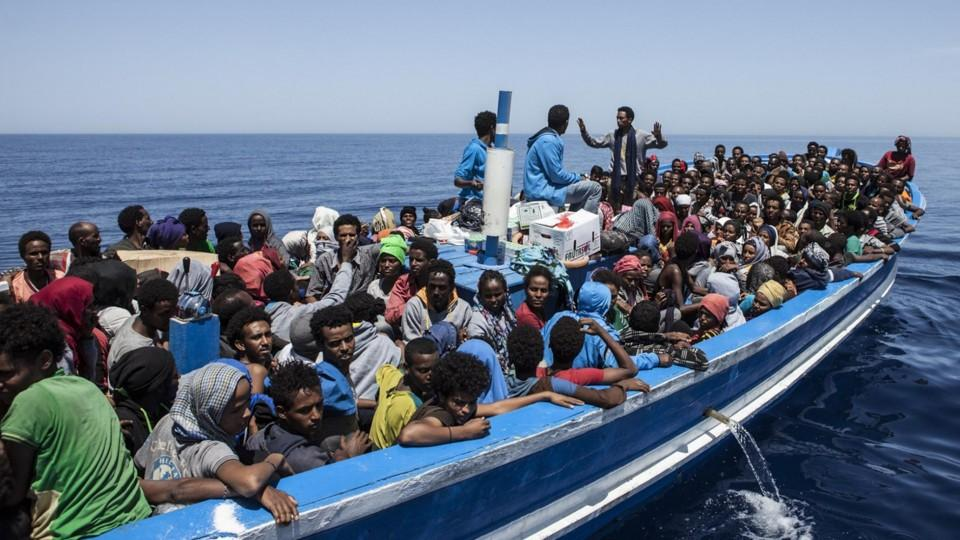 Millions of people try to reach Europe for a better life.