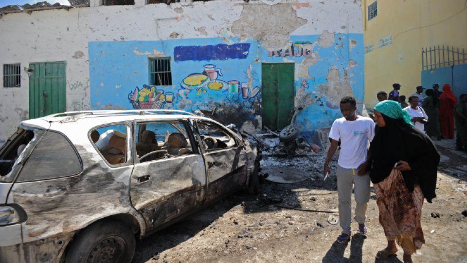Car bomb attack in Mogadishu's local government headquarters