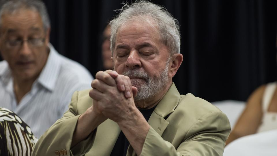 Though he is serving a 12-year sentence for corruption, the wildly popular leftist Lula, 72, continues to lead opinion polls ahead of October's election and has vowed his name will be on the ballot.