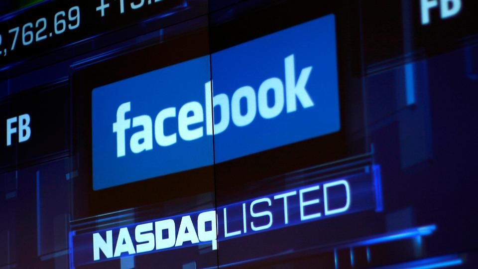 Facebook Inc's shares lost as much as a quarter of their value after executives said that profit margins would plummet for several years,