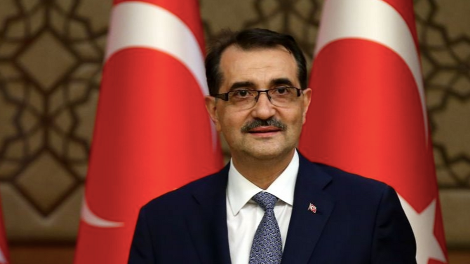 Turkish energy minister Fatih Donmez says