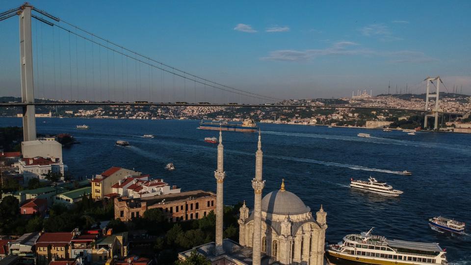 Bosphorus: the crossroads of trade, civilisation and legends