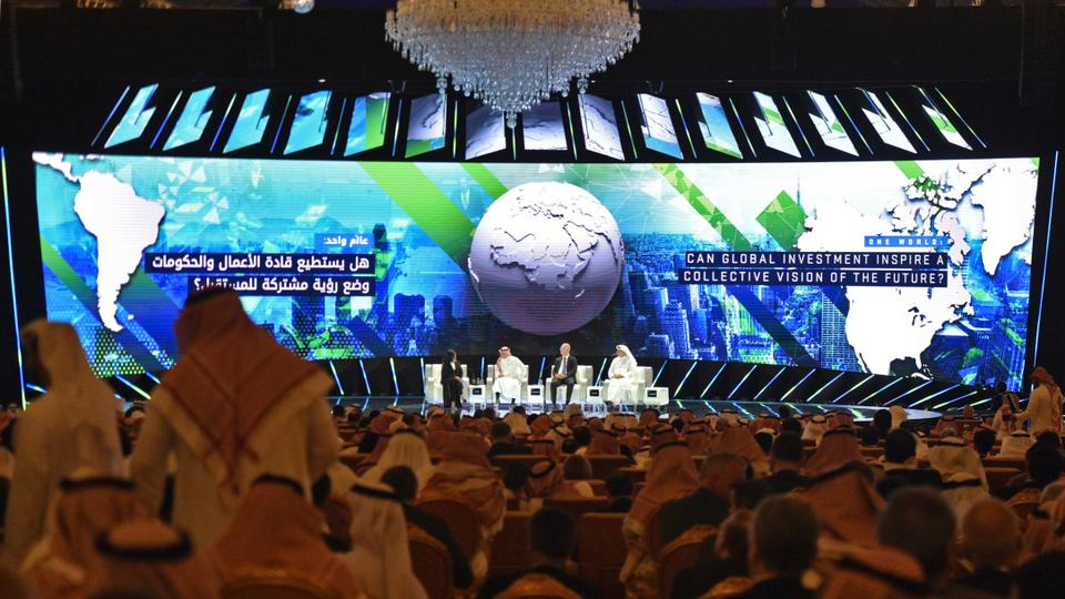 The forum is the brainchild of Prince Mohammed bin Salman and is aimed at drawing more foreign investment into the kingdom.