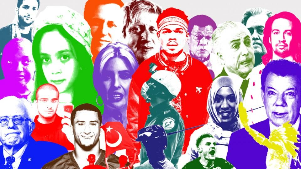 From Bana Alabed to Lin-Manuel Miranda and Burhan Wani, we look at the people who rose most unexpectedly to prominence in 2016.