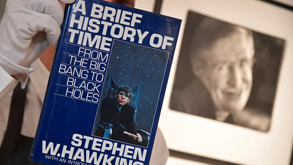 Stephen Hawkings Thesis And Wheelchair Sell For 1 Million
