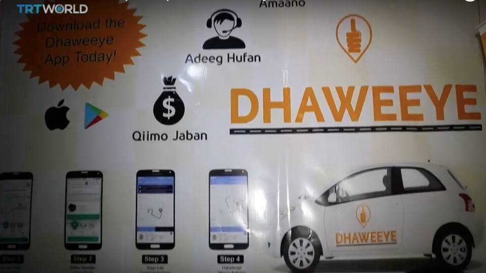 Taxi app in Somalia offers safe transport option, creates jobs