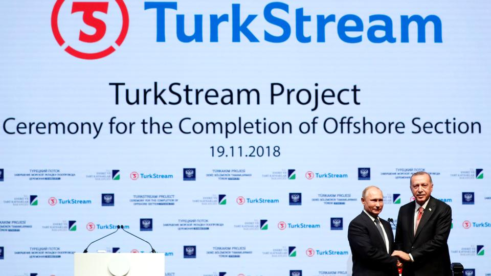 TurkStream gas pipeline project ready to operate in 2019 – Erdogan