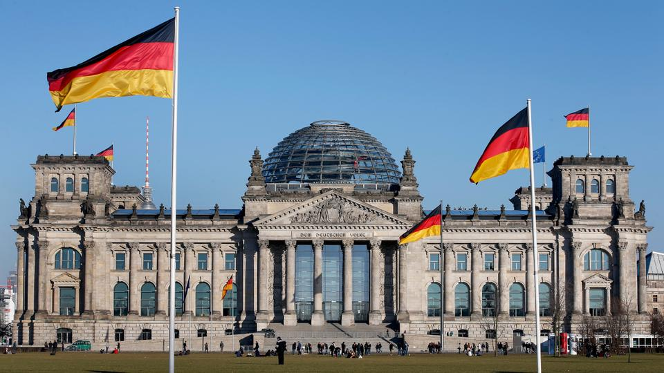 Germany's Reichstag building, host of the German Federal Parliament, in Berlin, Germany. File photo.