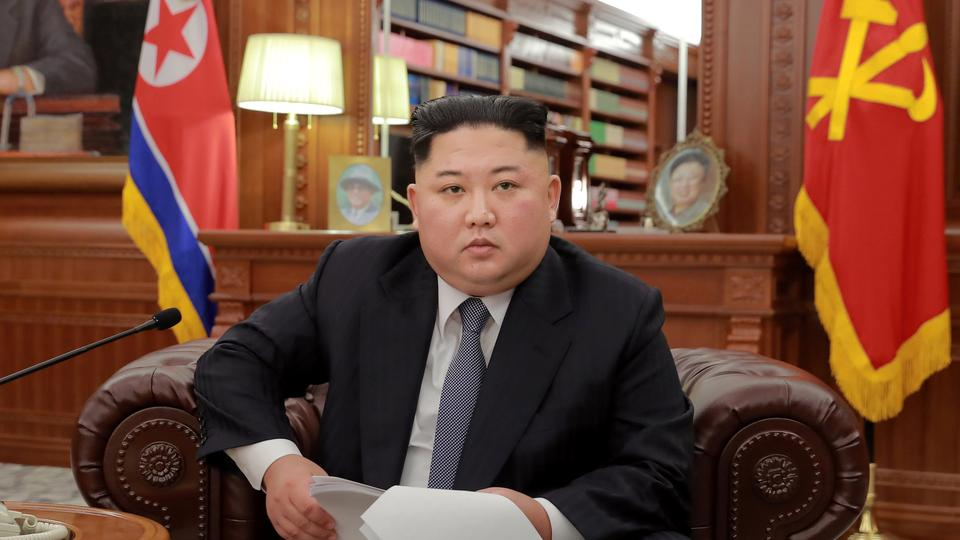 North Korean leader Kim Jong Un poses for photos in Pyongyang on January 1, 2019 (Credit: North Korea's Korean Central News Agency).