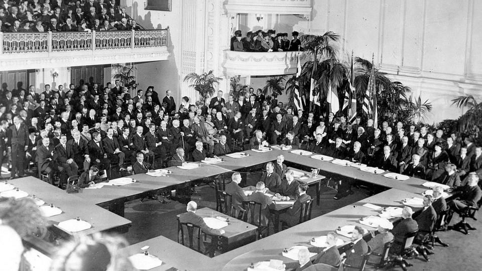 Paris Peace Conference 1919: The 100 Years' Crisis in post-Ottoman lands